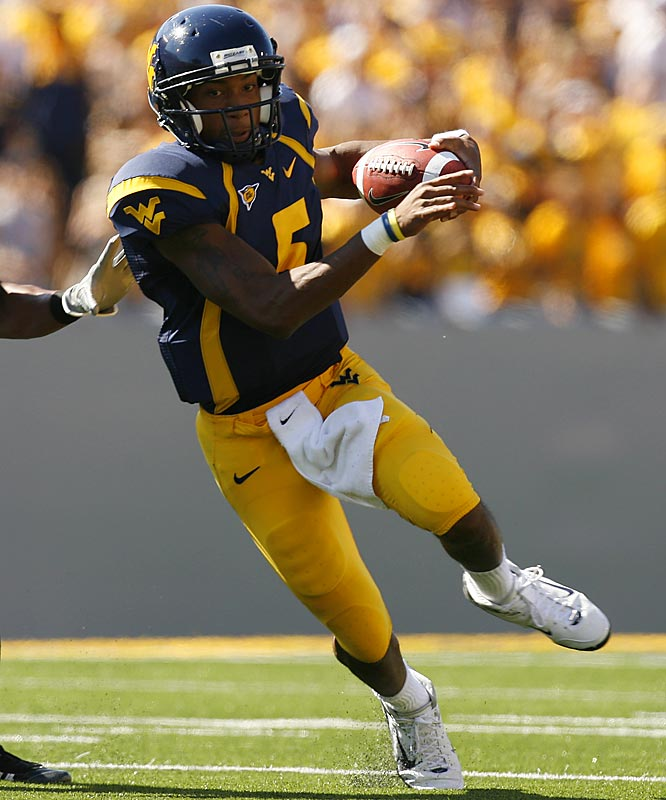 White hasn't been as electric as last season, but he's still a terror to stop in the Mountaineers' spread option. The junior has thrown for nine touchdowns and just two interceptions, while running for 500 yards and eight scores.