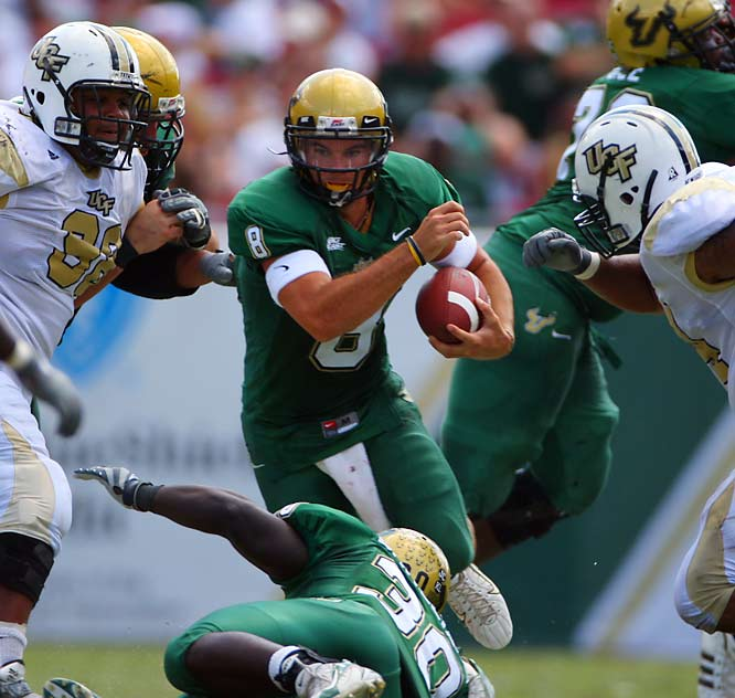 The Cinderella story of this season continues. The second-ranked Bulls are No. 1 in five of the six BCS computer polls. Can South Florida survive tonight's trip to Piscataway?