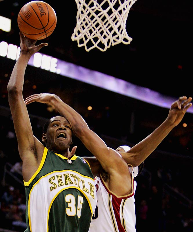 The Sonics are threatening to move if they don't get a new franchise, and the way they're playing these days, that might not be a bad thing. The Seahawks came close to winning a Super Bowl, but haven't looked like contenders the last two years. The Mariners are also good, but can't seem to take it to the next level.