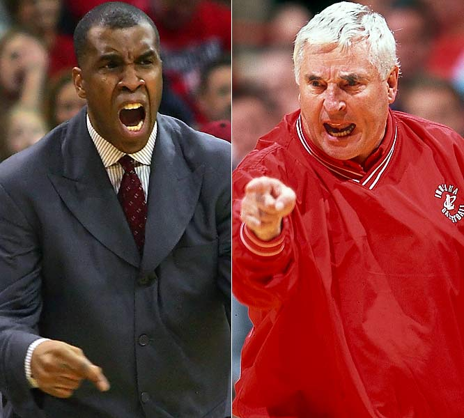 Basketball's Knight errant, despite three national titles at Indiana, was finally canned by IU in 2000. Knight was enraged that Davis, a young assistant he wanted to fire, got the job. IU made an unlikely run to the '02 title game, but the program ebbed. Davis, under fire before announcing his resignation in 2005, is now at UAB.
