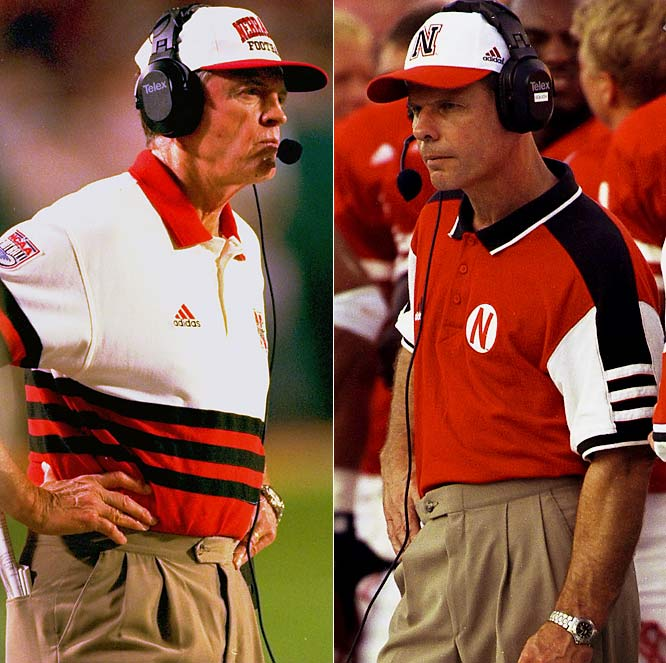 Solich's old coach, the two-time national champ-turned-three-term U.S. Congressman, is back as Nebraska's AD to help restore a once-proudprogram. It's too late for Solich, fired despite reaching the 2001 BCS title game, after going 10-3 in '02. He's at Ohio U.
