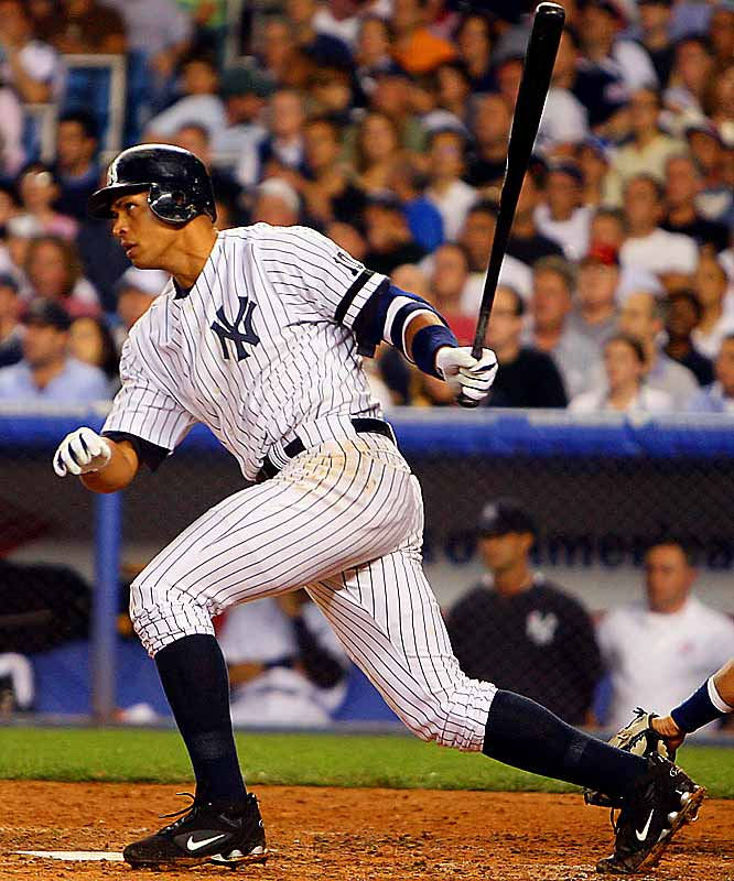These playoffs weren't a total loss for A-Rod -- he drove in his first postsason run since the 2004 ALCS! Rodriguez's solo home run in Game 4 broke a string of 15 consecutive playoff games without an RBI.