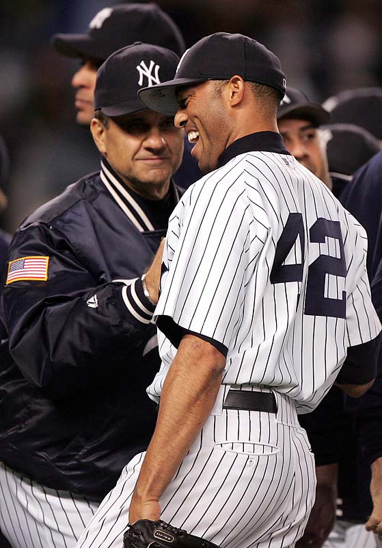 Torre formed extremely close bonds with a number of his players, including Yankees closer Mariano Rivera.