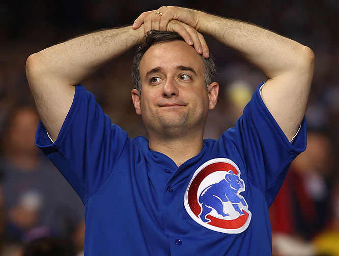 Cubs fans could not believe what they were seeing as the Arizona Diamondbacks swept away Chicago 5-1 in Game 3 of the NLDS.