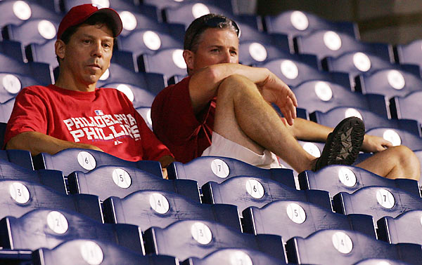 After a 10-5, Game 2 loss to the Rockies, Philadelphia fans wonder what went wrong after such a strong finish to the season.