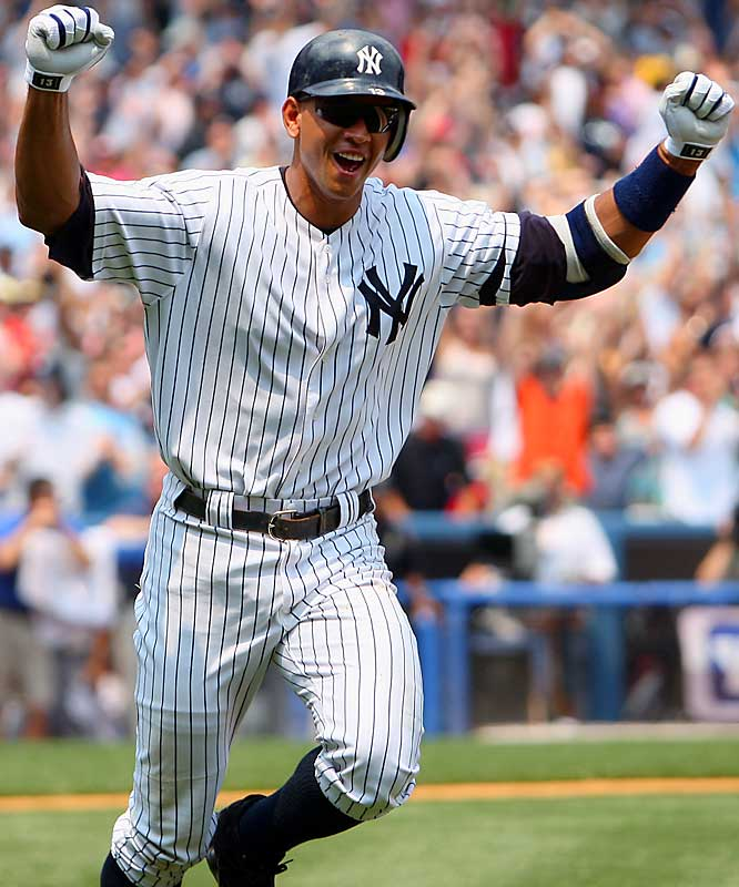 Rodriguez will more than likely take home the MVP award after carrying the Yankees on his back for part of the season and leading the majors in home runs (54) and RBIs (156).