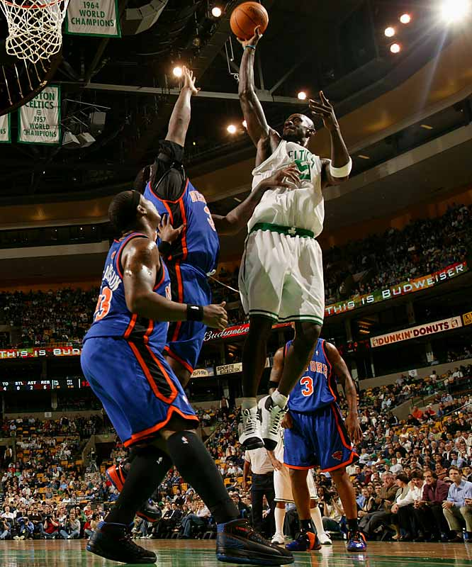 Garnett might have his best chance to reach his first NBA Finals after switching to the Eastern Conference. He has averaged at least 20 points, 10 rebounds and four assists in each of the last nine seasons.