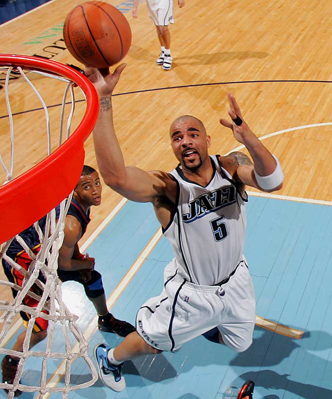 Only Kevin Garnett and Dwight Howard finished with more double-doubles last season than Boozer, who had 53 while averaging 20.9 points and 11.7 rebounds in 74 games. Boozer made his first All-Star team as well, a far cry from his early days in Utah when the injury-plagued power forward was criticized by owner Larry Miller and heard his name in trade rumors.