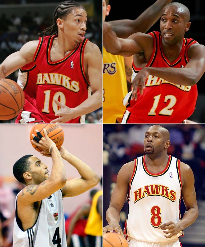 Coach Mike Woodson must decide which floor leader is the right man to lead his rising young team (Salim Stoudamire could even make this a five-player race). Claxton was a free-agent flop during an injury-plagued 2006-07. Lue and Johnson are capable veterans, but perhaps more suited as backups. Law has tremendous upside, but might not be ready yet for the NBA game.