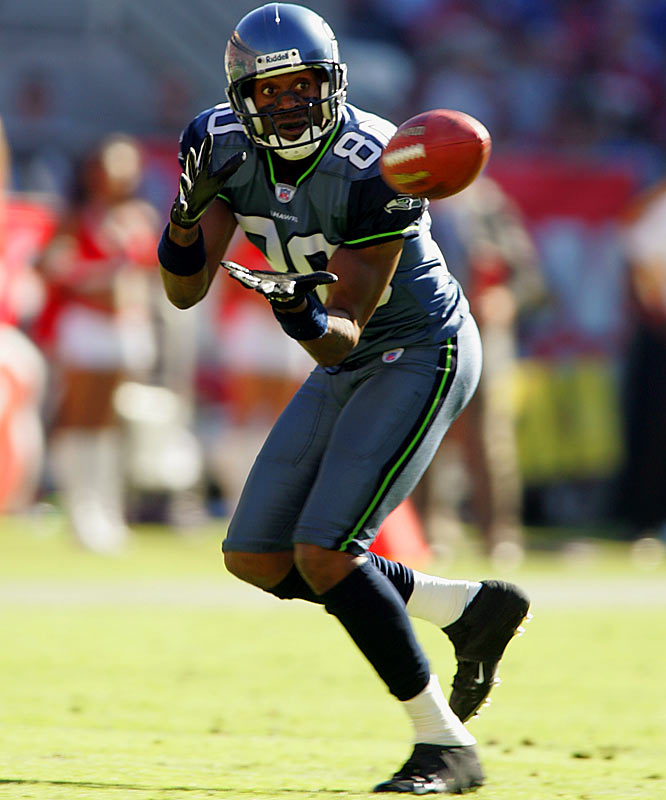 Oct. 19, 2004:  Seattle acquires WR Jerry Rice; Oakland acquires seventh-round draft pick.  One year after leading the Raiders with 63 catches for 869 yards -- at the tender age of 41 -- the greatest wide receiver in NFL history had become disenchanted with his increasingly marginalized role in the Oakland offense. After quietly requesting a trade from team owner Al Davis, the 13-time Pro Bowl selection was sent to the Seahawks in exchange for a seventh-round draft pick. The deal reunited Rice with Seattle coach Mike Holmgren, who had overseen the wideout's development into a superstar while serving as quarterbacks coach and offensive coordinator with San Francisco from 1986 through 1991.