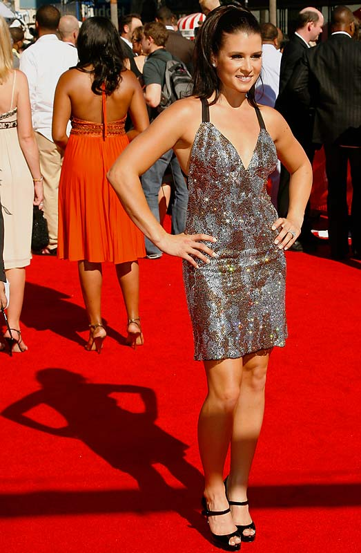 In a glittery, back-baring minidress, Danica Patrick killed the competition at this year's ESPY Awards.
