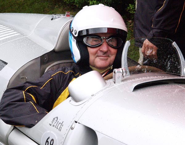 Pink Floyd's longtime drummer owns more than 30 vintage race cars and has driven in the 24 Hours of Le Mans five times. In June 2007, Mason took the wheel of a 1936 Auto Union Type C at the Goodwood Festival of Speed in West Sussex, England.