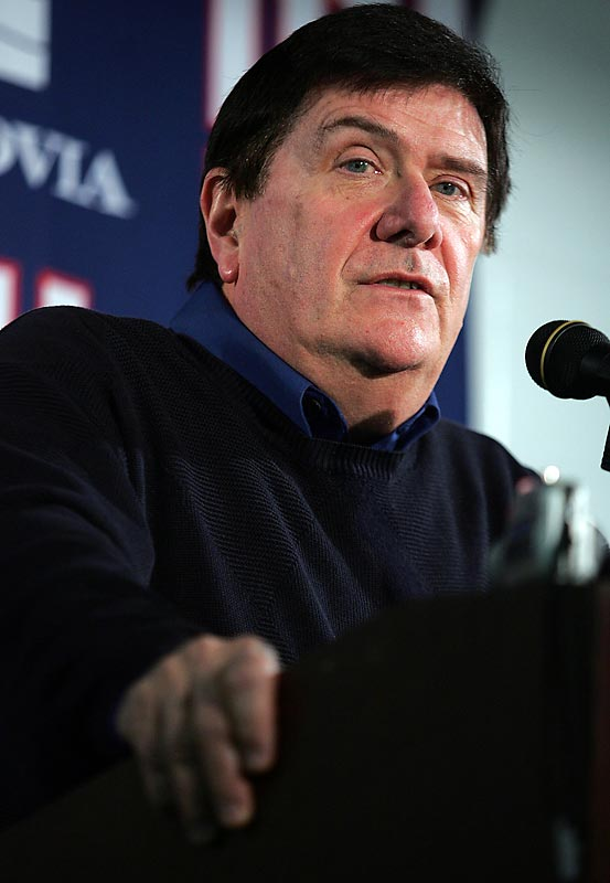 "His 35 seasons included general manager stints with the Baltimore Colts, Cleveland Browns and, for the last nine, the New York Giants. One of the NFL's most popular GMs, Accorsi maneuvered to draft Eli Manning in 2004 and gave author Tom Callahan inside access for ""The GM,"" a superb look at Accorsi's farewell season."