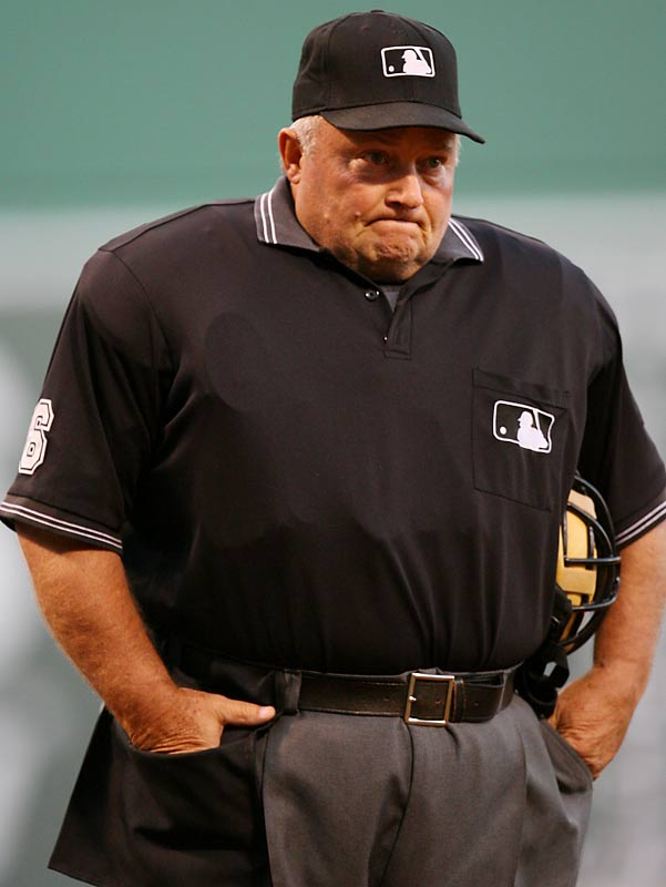 Now <i>that's</i> the face, and voice, of an umpire. No one worked more seasons, or games, than Bruce Froemming, baseball's longest-tenured ump who called 'em as he saw 'em for 37 seasons. At 68 years, 2 days, he even surpassed the late, legendary Bill Klem last season as the oldest ump in big-league history.