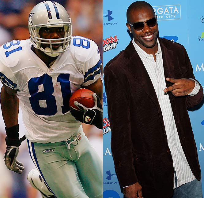 Give him four stars. No, not just for his four touchdown catches in the Cowboys' 28-23 victory Sunday over the Redskins. T.O.'s got four-star fashion sense to boot.