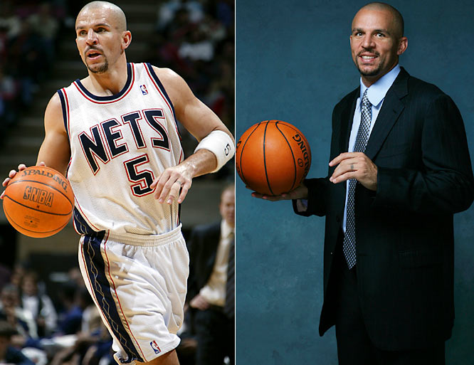 On the rebound, he's no kid anymore. Rather, an NBA elder with a matching sense of style and well-suited for the role. Whatever the age or occasion, Kidd's still a good fit.
