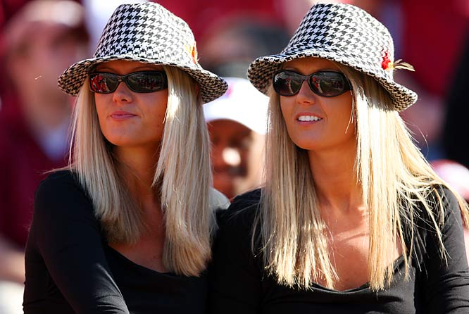 Houndstooth hats were all the rage during Saturday's Saban Bowl between LSU and Alabama. Unfortunately, the hats weren't enough as the Tigers downed the Tide, 41-34.