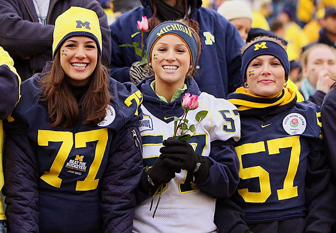 Michigan fans hoped a victory on Saturday would lead the Wolverines to a Rose Bowl birth, but the Buckeyes' 14-3 victory put a quick end to those dreams.