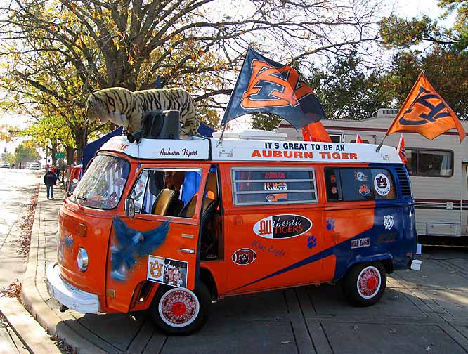 We can't say enough good things about this Auburn fan's ride.