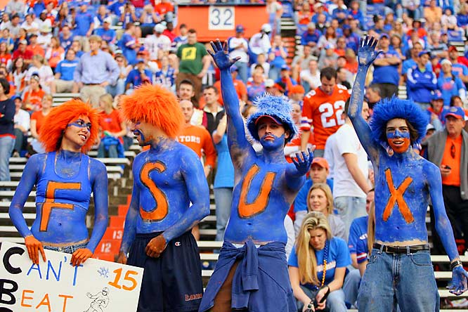 It's hard to argue with these Gator fans -- especially after the Seminoles' mediocre 7-5 season.