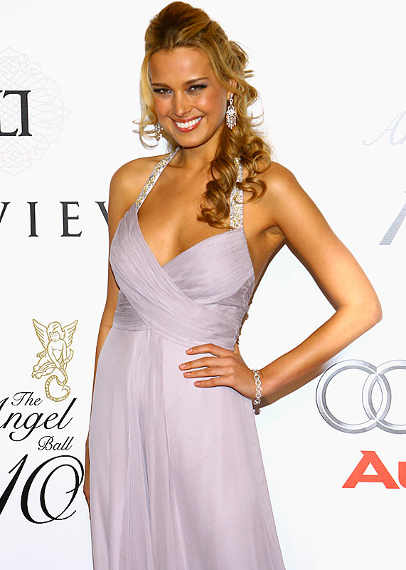 SI Swimsuit model Petra Nemcova attended a charity event in New York earlier this week...