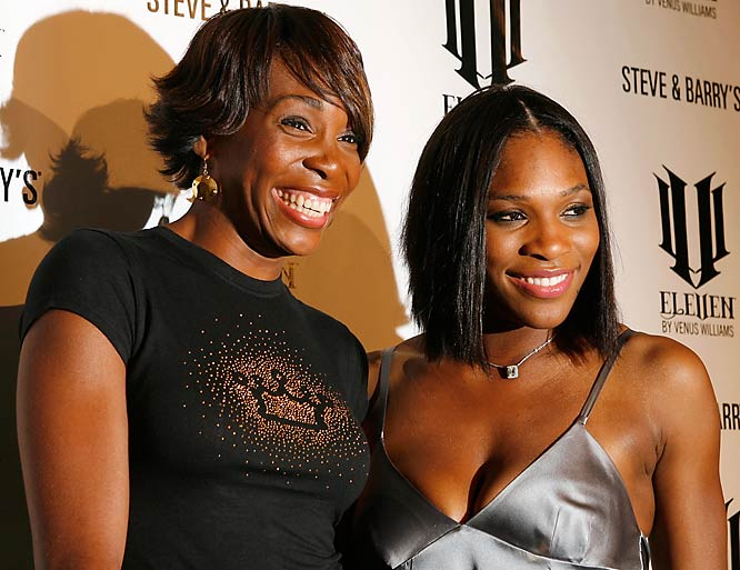 Venus and Serena Williams attended the launch party of Venus' new clothing line earlier this week.