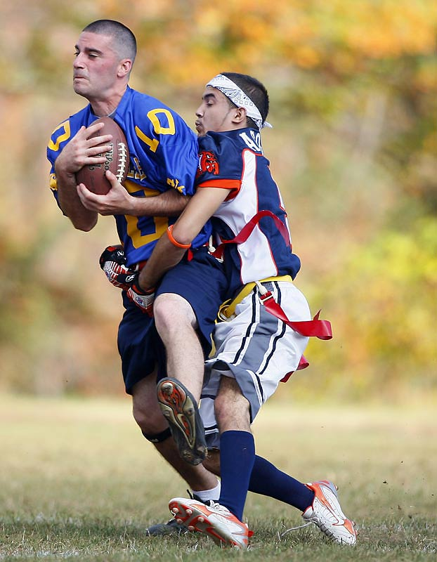 Flag football, Monticello, N.Y.