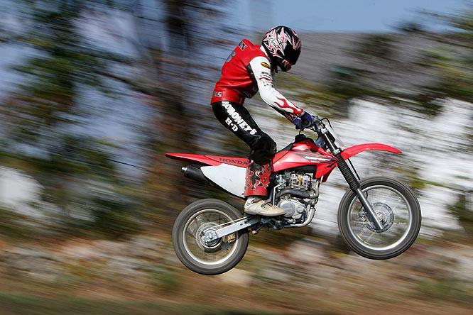 Motorcross biker Dennis Flynn Jr., Montgomery, N.Y.