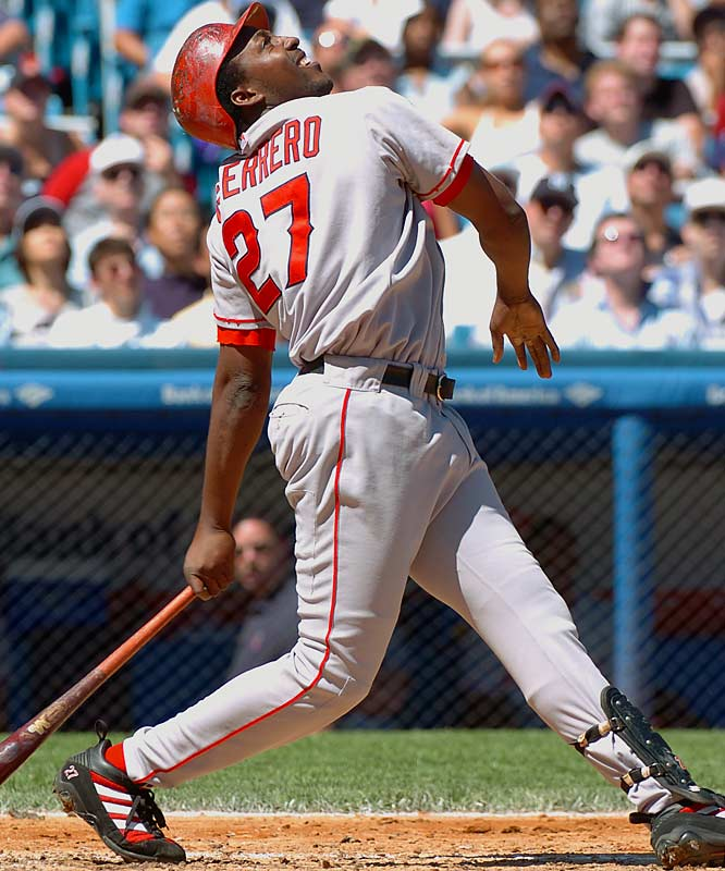 A lot of teams were after Vlad in the winter before the '04 season. The Angels were somewhat surprising winners, with a deal that paled to some signed a couple of years earlier. Guerrero, still the lone big bat in the Angels' lineup, produced an MVP in the first year, 131 homers in the first four years and three division titles.