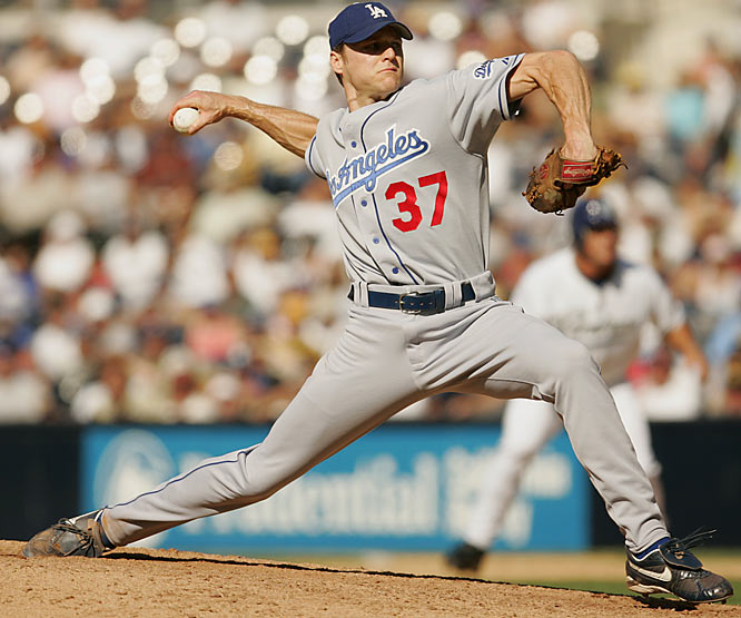 L.A. rewarded its young (29 at the time) righty with this deal in the winter of 2000 -- despite a 39-45 career record with a 4.28 ERA. Dreifort responded with one full season -- as a reliever, in '04 -- nine wins, 15 losses, one save, a 4.64 ERA, several trips to the DL and an early retirement.