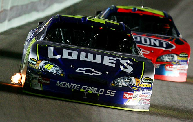 Johnson became the first driver to win consecutive championships since Jeff Gordon in 1997 and '98
