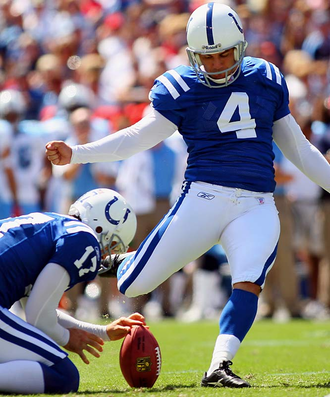Adam Vinatieri has been nothing short of heroic, kicking the game winning field-goal in two Super Bowls and always hitting the big kick when his team needs it.