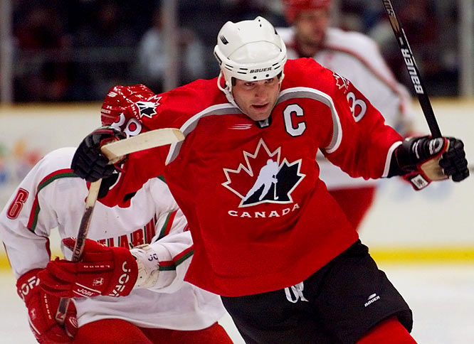 With an impressive international resume that included two World Junior championships, the 1991 Canada Cup title and a 1992 Olympic silver medal, Lindros was named captain of Team Canada for the `98 Winter Games. Alas, he came home empty-handed after losing the bronze medal game to Finland.