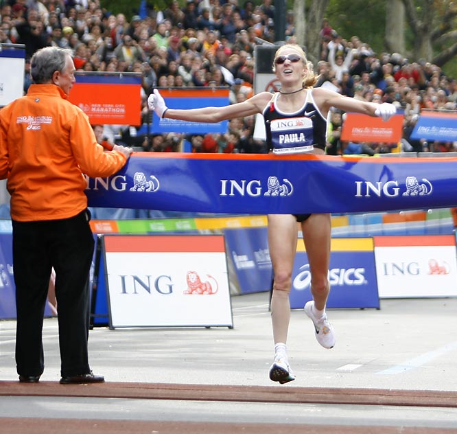 Great Britain's Paula Radcliffe beat her main competition by more than 20 seconds.
