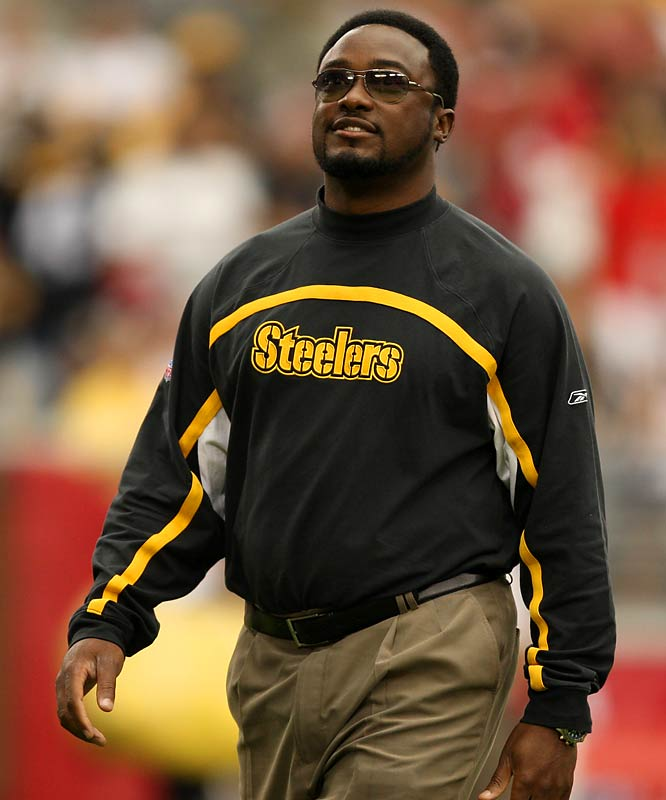 Shouldn't somebody tell Mike Tomlin it's not easy to replace a legend? Since team president Art Rooney II tabbed the 34-year-old wunderkind for Pittsburgh's head coaching vacancy, Tomlin has provided a seamless transition from Bill Cowher, a beloved coach whose 15-year tenure included a Super Bowl XL championship. The Steelers have sprinted to a 9-3 start and appear poised for their third AFC North title in four seasons.