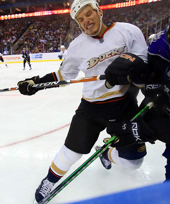 This 22-year-old Ducks center is a big reason to stay up late and catch some West Coast games. Getzlaf started to make his name known in last season's playoffs, where he chipped in seven goals and 17 points in 21 games. The 100-point plateau could be within reach in a season or two.