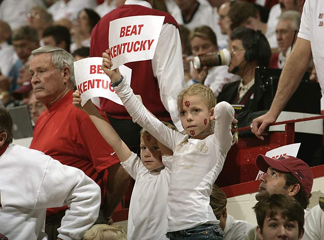These future Hoosiers left Assembly Hall with a smile on their face after Indiana's 70-51 victory over Kentucky.