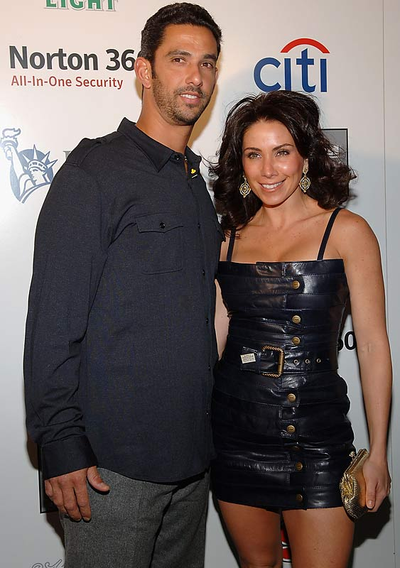 Jorge Posada and his wife, Laura, attended SI's Sportsman of the Year party on Tuesday.
