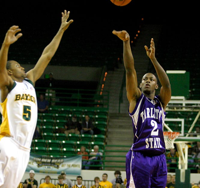 "Nov. 2 in Waco, Texas<br>95-85 (exhibition)<br><br>Using a lineup that featured four Division I transfers -- including former New Mexico starter Jeffrey Henfield, who had 28 points, and ex-St. John's starter Avery Patterson (pictured), who had 23 -- Division II Tarleton knocked off the Bears on their home court. Afterward, Baylor coach Scott Drew told the Waco Tribune, ""Thank goodness this is basketball and not football, because this game doesn't count where Appalachian State did."""