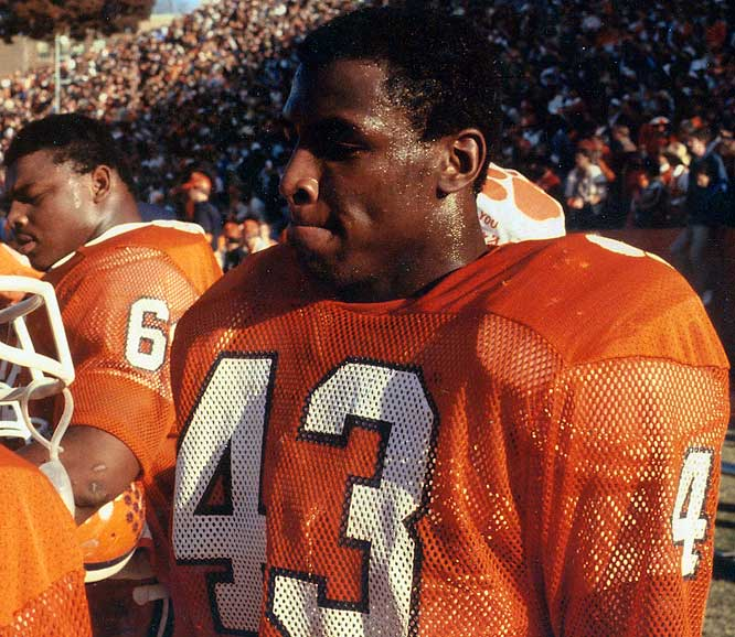 Kinard had 17 interceptions, 30 pass deflections, and 292 tackles during his college career. He led his team in tackles and was a consensus All-America in 1981 as Clemson won the national championship. Sports Illustrated picked him on its all-century team. <br><br>Runner-up: <br>Bob Crable, LB, Notre Dame (1979-81)