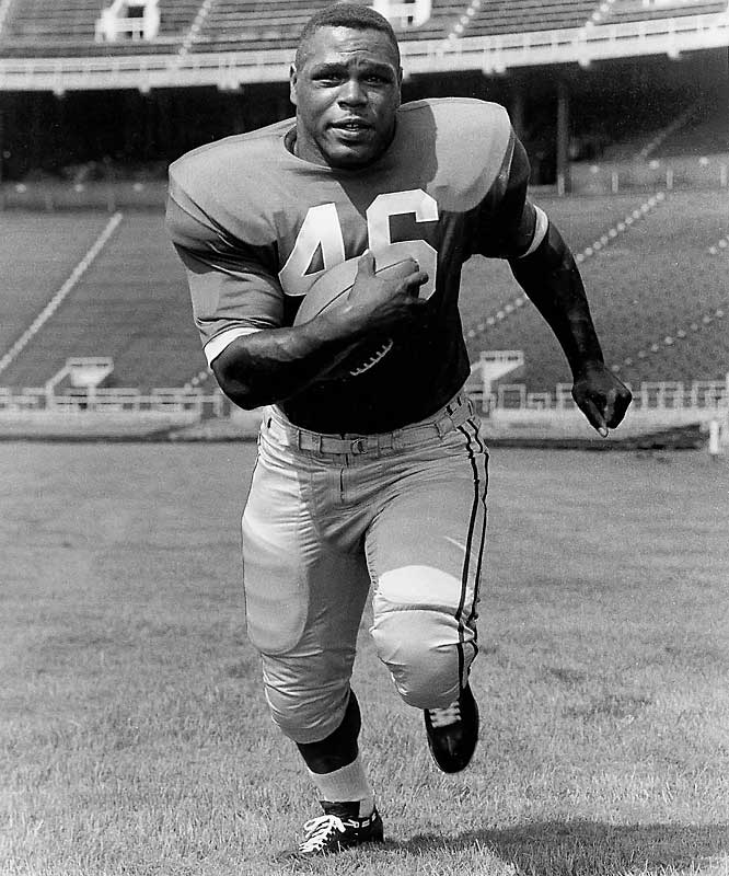 A two-time All-America and Heisman runner-up in 1961, Ferguson lined up alongside Paul Warfield and Matt Snell. He rushed for 2,162 yards and averaged more than five yards a carry.<br><br>Runner-up: <br>Harry Newman, QB, Michigan (1930-32)