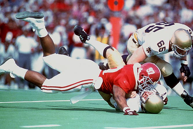 Bennett was elected as Alabama's ''Player of the Decade'' in the 1980s with good reason: He was a two-time All-America (1985 and '86) and won the Lombardi Award in 1986.<br><br>Runner-up: <br>Tommie Harris, DT, Oklahoma (2001-03)