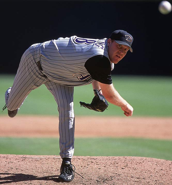 "Schilling was traded to Arizona by Philly in 2000, and the next year delivered the D-Backs a world title. He didn't even wait that long to do the same after being shipped to Boston before the 2004 season. His epic ""Bloody Sock"" victory against the Yankees in Game 6 of the 2004 ALCS has entered baseball lore, and he has further cemented his reputation as one of baseball's premier big game pitchers by helping the Red Sox win the 2007 crown."