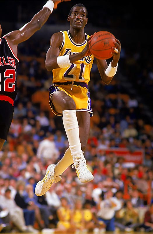 ''Coop'' started only 94 times in an NBA career that lasted 873 games and 12 seasons, but the ''Showtime'' Lakers were at their best when Cooper was on the court, dimming the lights of someone else's big scorer. No less an authority than Boston's Larry Bird called Cooper the best defender he ever faced. Cooper never won the Sixth Man award, but the wiry 6-foot-7 product of New Mexico won five championship rings and anchored eight NBA all-defensive squads.