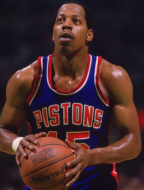 In what seems like one of the great oversights in NBA trophy history, ''The Microwave,'' as Johnson was known during his heyday with the Detroit Pistons, never was selected as the league's top reserve. All he did was help the notorious ''Bad Boys'' to consecutive championships in 1989 and 1990, usually by spelling Isiah Thomas or Joe Dumars in the backcourt and letting it fly. But the squat shooter was 32 and 33 in those two seasons; his best super-sub year was 1986-87, when he averaged 15.7 points.