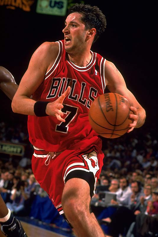 Kukoc, a star in Europe before joining the Bulls during Michael Jordan's first retirement, was similar to Ginobili in sometimes subbing, sometimes starting. He is the last Sixth Man award winner whose team won the NBA championship; Kukoc came off the bench 61 times in 81 appearances for Chicago in 1995-96, averaging 13.1 points (second-lowest in his first seven NBA seasons).