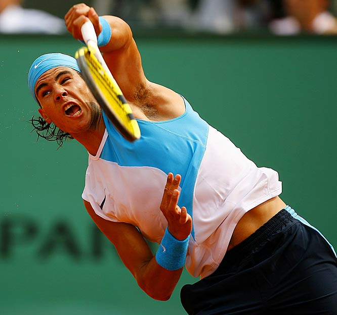 Raphael Nadal kept up his masterful work on clay by taking his third consecutive French Open title.