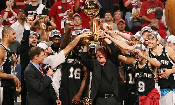 Behind the speed and elusiveness of Tony Parker, the Finals MVP, the San Antonio Spurs captured their fourth title in the past nine years.