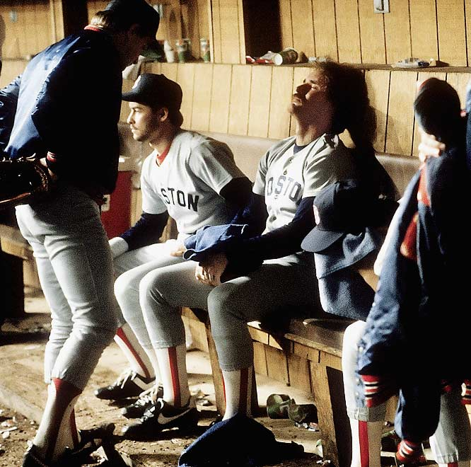 Wade Boggs can't do anything but shed a tear after the Sox lost a heart-breaking seven-game series to the Mets in the 1986 World Series.  Who would you add to the list? Send comments to siwriters@simail.com.
