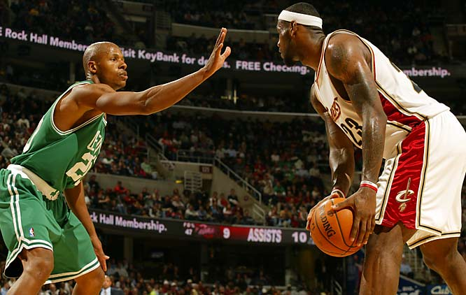 After 12 mostly mediocre seasons in Milwaukee and Seattle, Ray Allen looks to have his best chance to reach the NBA Finals.